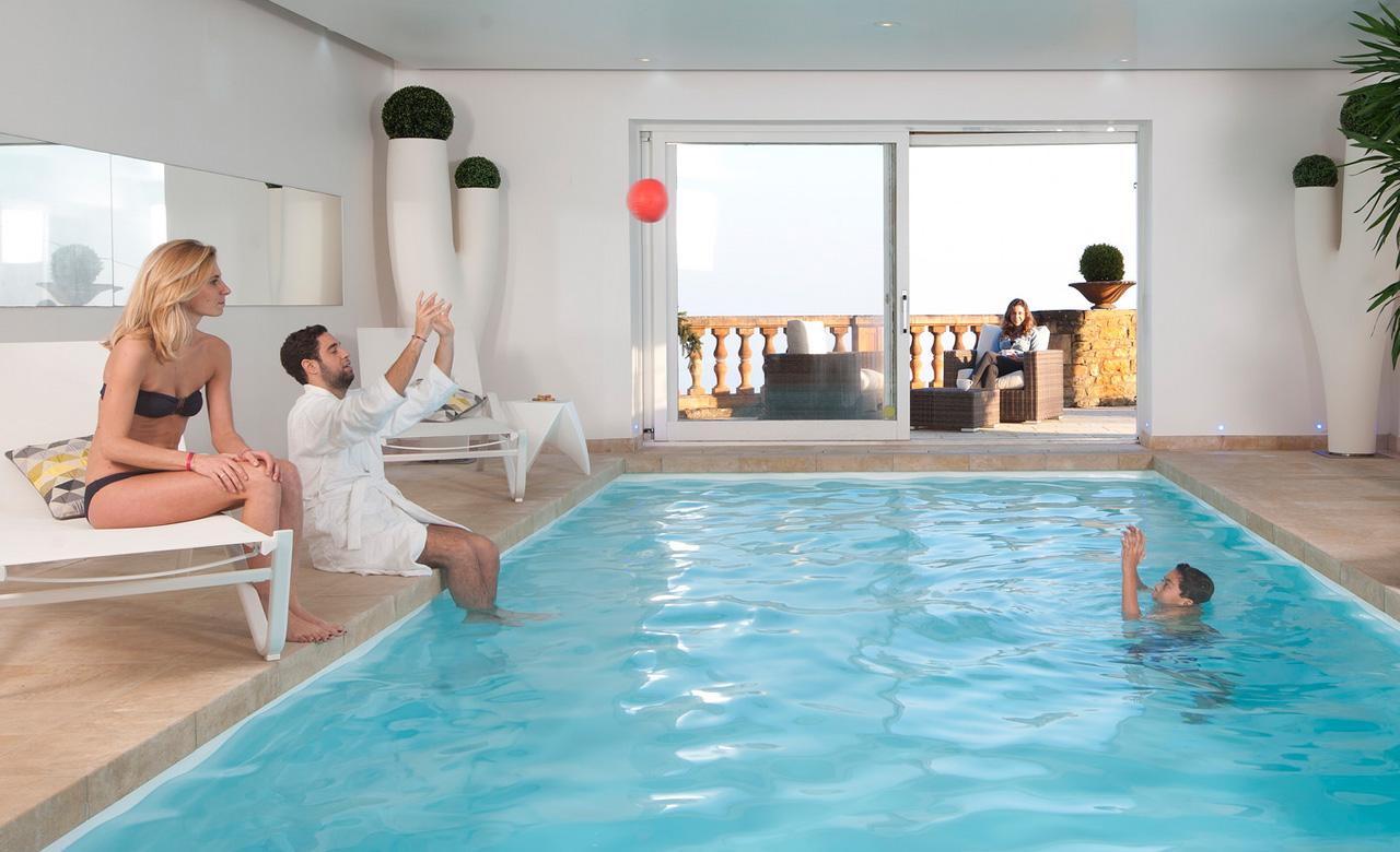 Indoor pool kosten  Indoor-Pools – Pool im Haus – Desjoyaux Pools