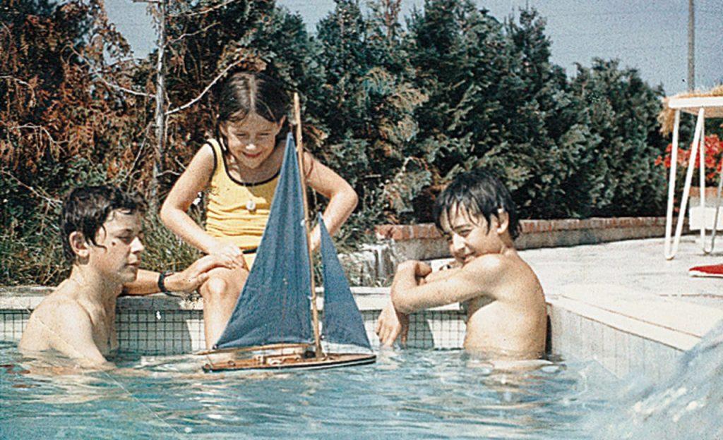 Kinder der Familie Desjoyaux 1966
