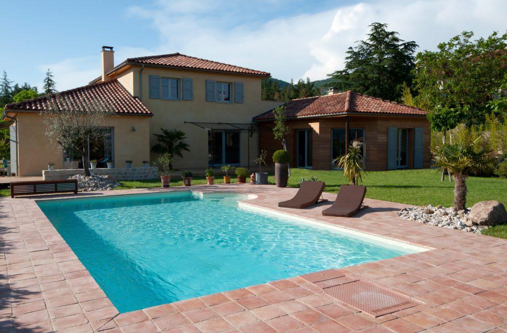Swimmingpool Garten 10m x 5m