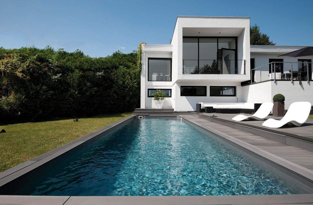 Pool - Schwimmbecken 11m x 3m