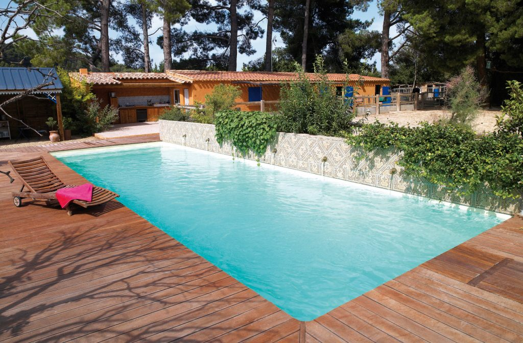 Outdoor-Pool 12m x 4m