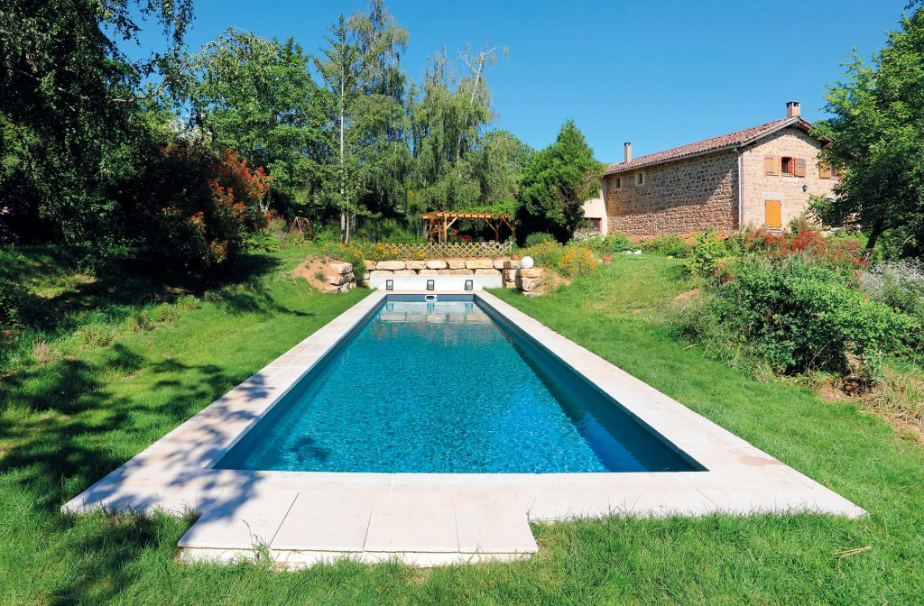 Pool Schwimmbecken 15m x 3m