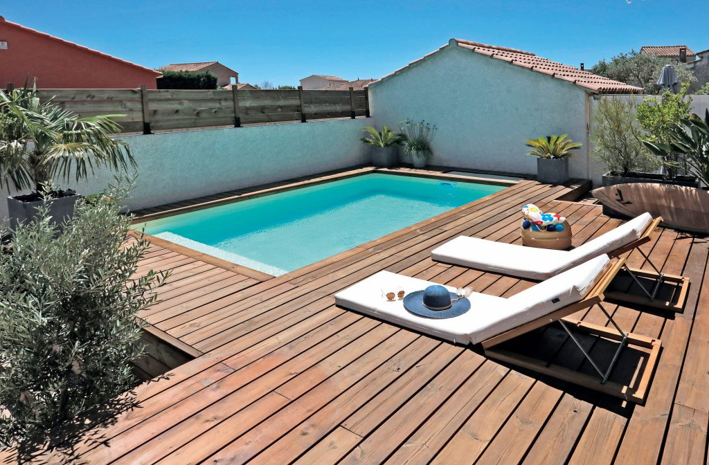 Outdoor-Pool 5 Meter x 3 Meter