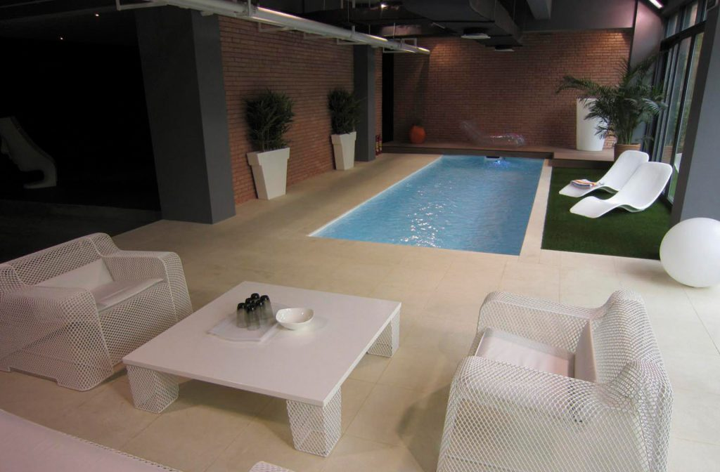 Pool im Haus 6m x 2,5m