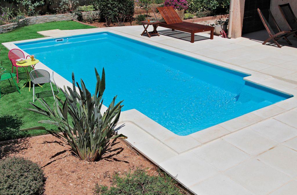 Pool im Garten 6m x 3m