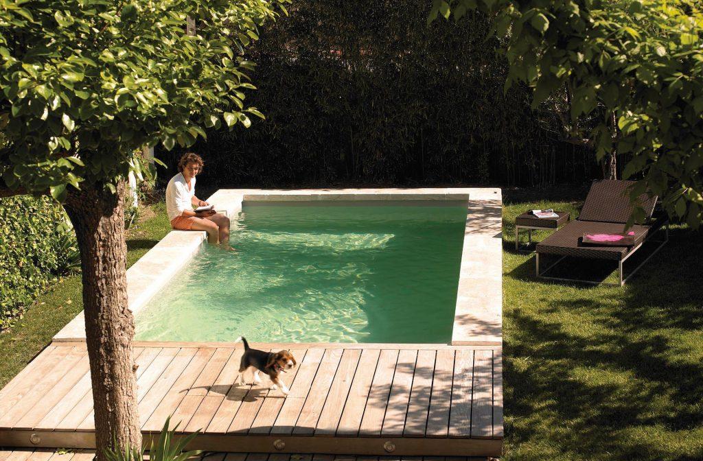 Swimmingpool Garten 6m x 3m