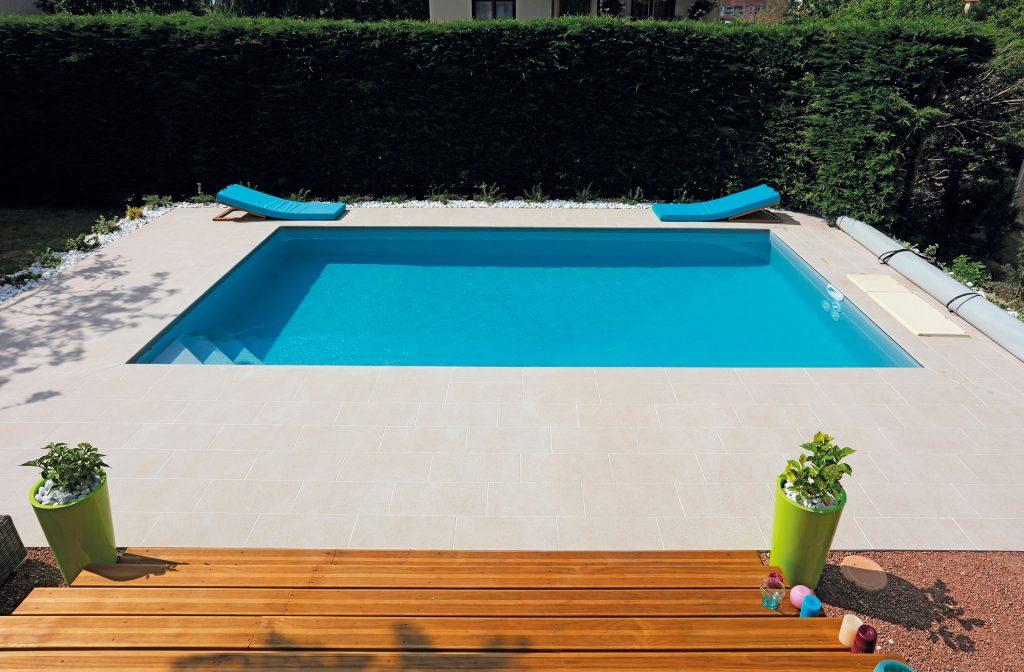 Gartenpool 7m x 4m