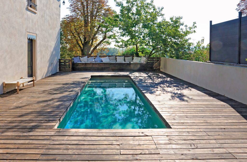 Outdoor-Pool 8m x 2,5m