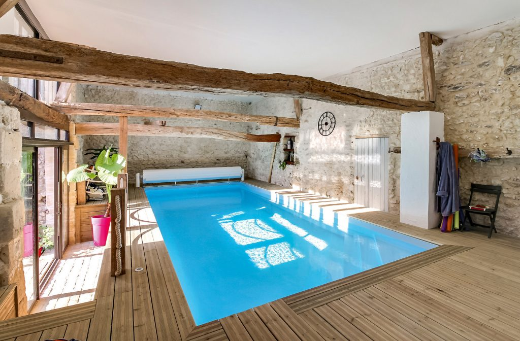 Indoor-Pool 8m x 3,5m