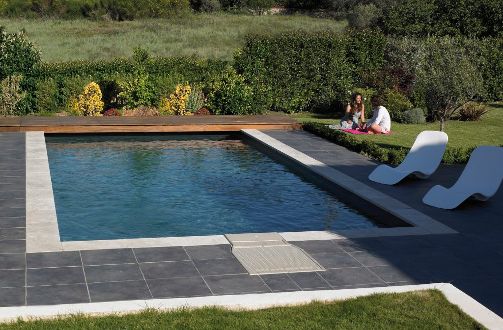 Gartenpool 9m x 4m