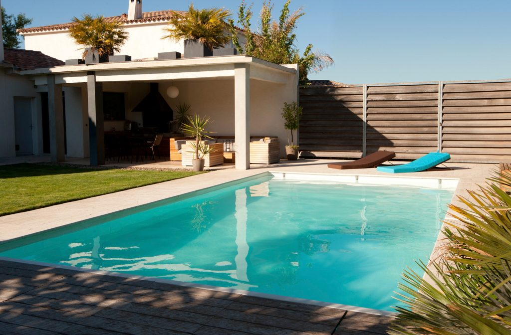 Pool / Schwimmbecken 9m x 4,5m