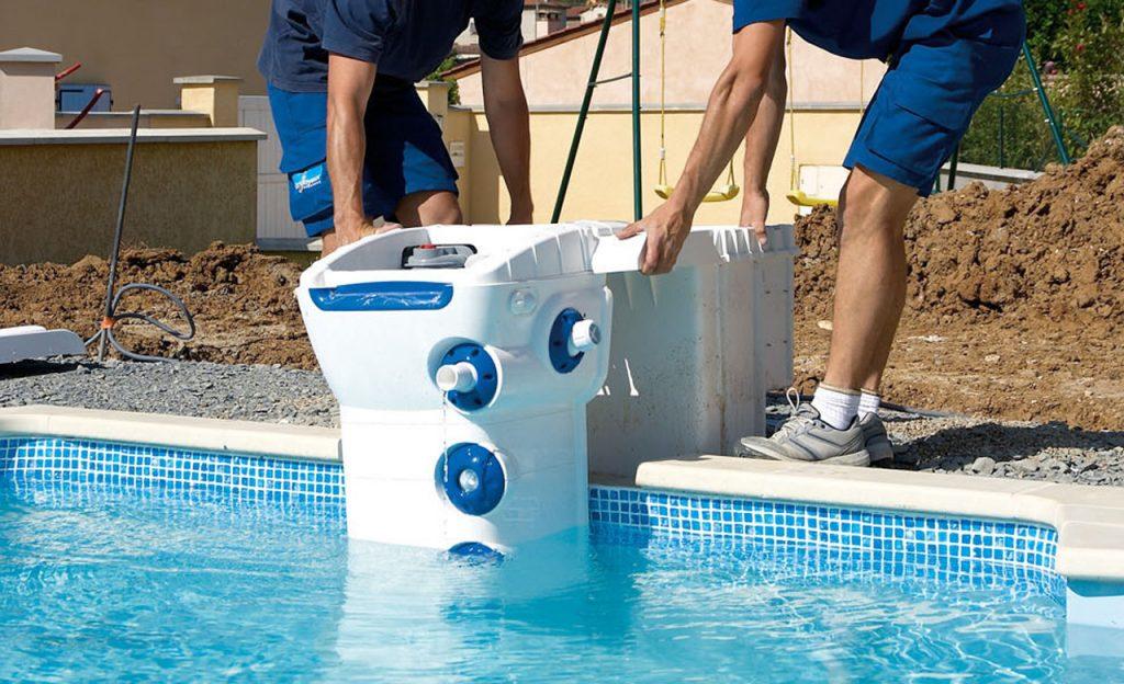 Pool-Filtersystem kanalisationsfrei