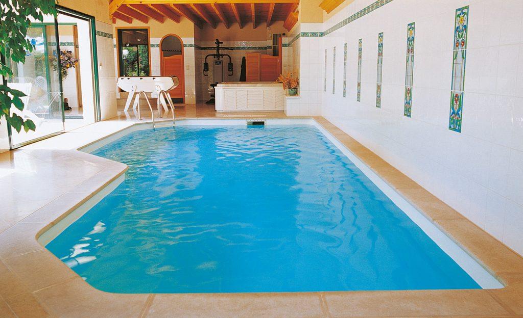Pool in einer Ferienwohnung