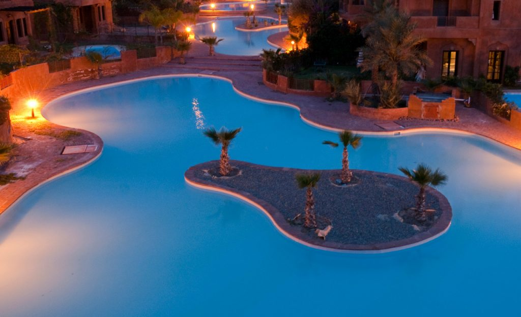 Swimmingpools Hotelanlage
