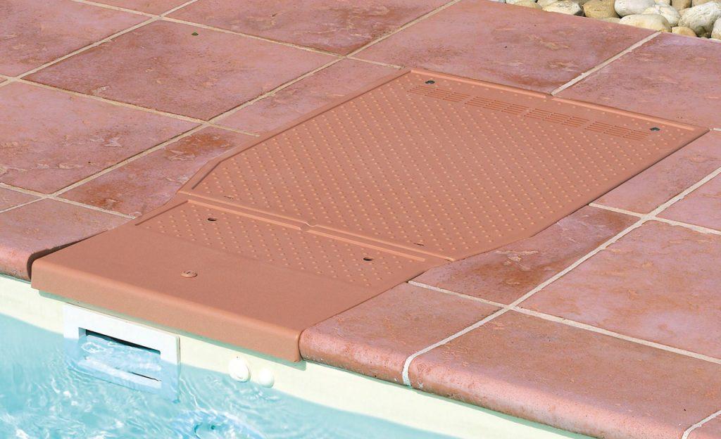 Abdeckung integrierter Poolfilter