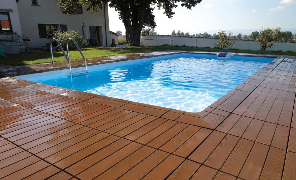 Pool nach der Renovierung