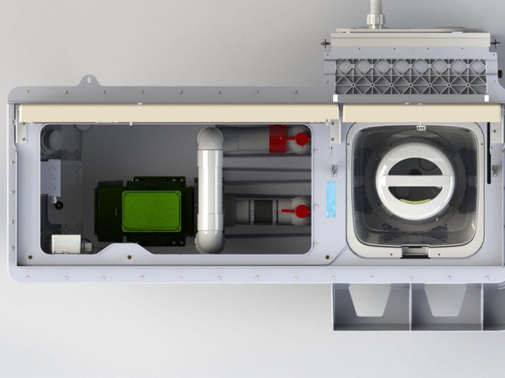 Pool-Filtertechnik PF.I 181 3D Draufsicht