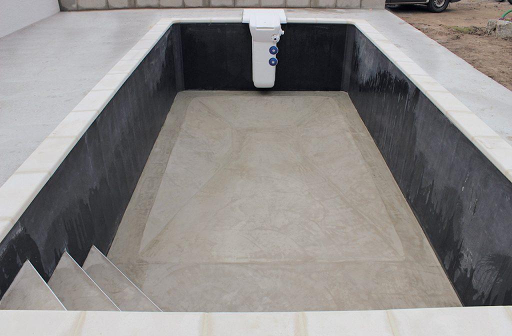 Poolsystem: Struktur Rohbau