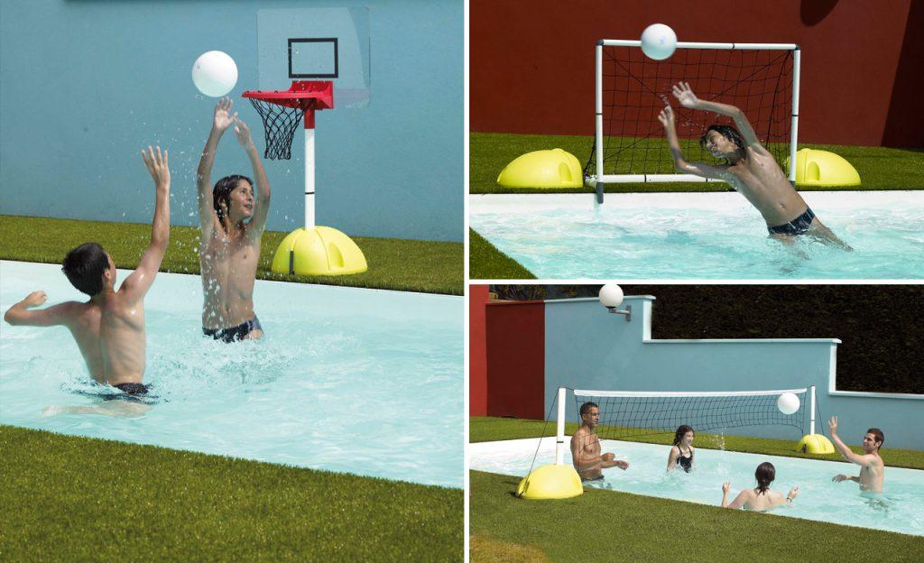 Sport & Spiele am Pool
