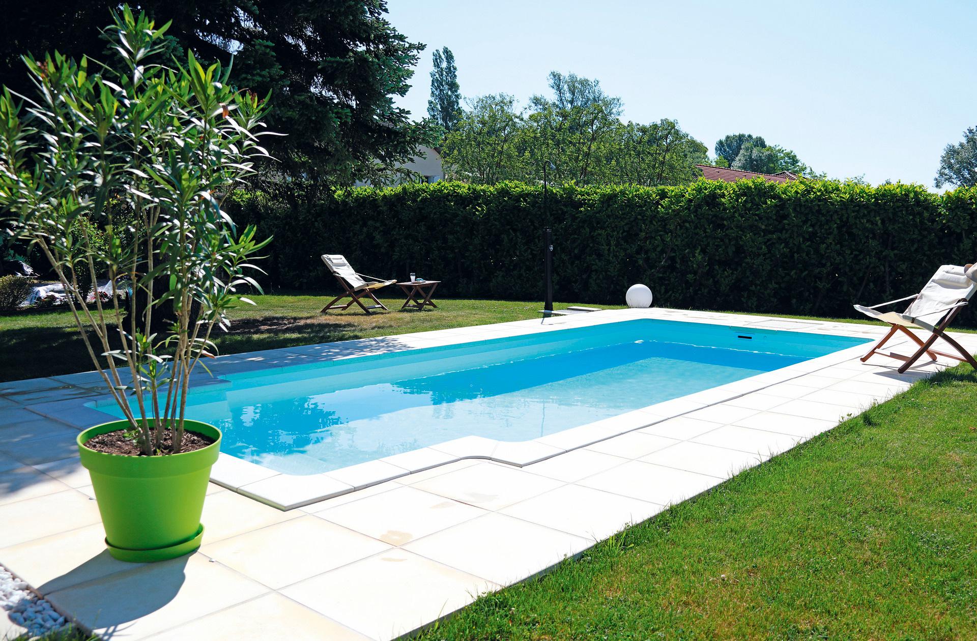 Berühmt Pool Bildgalerie: Swimmingpool Referenzen – Desjoyaux Pools CZ47